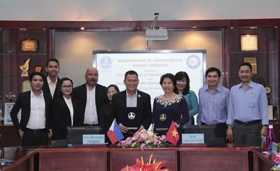 필리핀 Pangasinan 대학교와 양해각서 체결