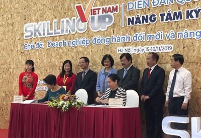 국가적인 산학협력 포럼 참석: 베트남 노동자의 능력 및 이미지 향상